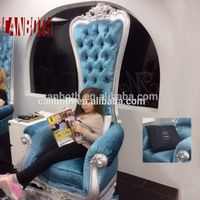 Elegant design high back salon spa nail pedicure chairs CB-FP003