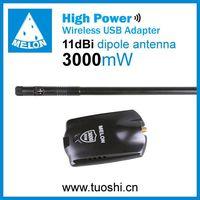 3000mW,Ralink 3070,11dbi,150Mbps wifi usb adapter