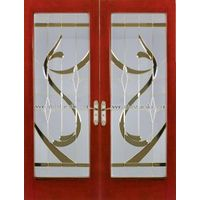 SGCC Manufacturer Air Glass For Door Shopping Mall Decortation Inlaid Glass