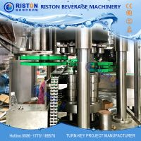 High speed bottle carbonated soft drinks bottling canning line