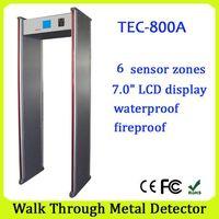 security walk through metal detectors TEC-800A detector metal