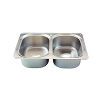 Stainless steel kitchen sink - Rossi Economic - RA 12 thumbnail image