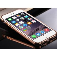 2015 hot selling in the USA Luxury 24K Gold Electroplating cases Aluminum Alloy with Acrylic mirror