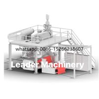 PP melt blown non-woven melted spraying cloth spunbond fabric making machine