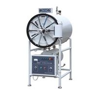 horizontal  pressure steam sterilizer/disinfection machine manual type