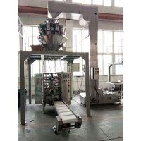 nitrogen flushing chips packaging machine