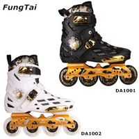 Mens 4 Wheels Inline Skate Shoes Street Slalon Roller Blade (DA1001-1002) thumbnail image