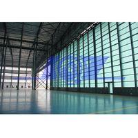 Fiberglass High Strength Heat Insulation Panel Aircraft Sliding Hangar Door