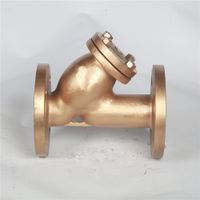 Brass Flange Y Strainer Filter Pipeline Fittings thumbnail image