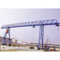 MH model electric single girder gantry crane