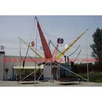 Basketball Trampoline Bungee Jumping Trampoline with Dunk thumbnail image