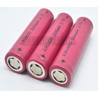 Li-ion rechargeable battery 18650