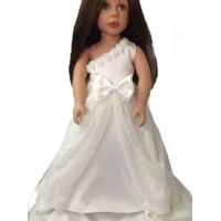 bridal dress fits 18 inch doll