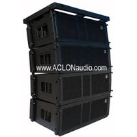 "VT4889 Dual 15"" Three-Way High Power Line Array"