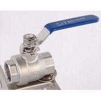 2-PC Internal Thread Ball Valve
