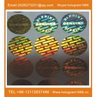 hologram adhesive label