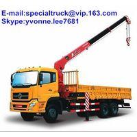 truck mounted crane 8tons DFAC crane truck