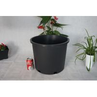 Wholesale Black pots, Flower garden plastic pots,tree nursery container