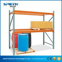 US heavy duty Warehouse storage teardrop pallet racking system