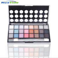NiceTime fashion 24 color pearlescent earth color micro flash makeup eye shadow
