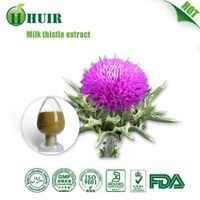 Huir Free sample goat milk extract Milk Thistle Extract natural milk thistle extract