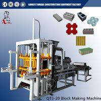 Automatic Concrete Hollow Block Making Machine thumbnail image