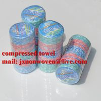 organic and healthy bamboo compressed towel