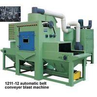 Automatic belt conveyer sand blast machine thumbnail image