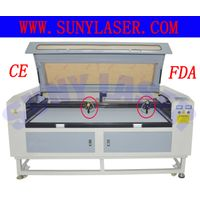 Multi Heads Texitle Laser Cutting Machine 16001000mm thumbnail image