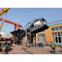 mobile concrete batching plant HZS50