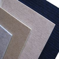Fireproof Material Low Melt Staple Fiber Diffuser Hotel Polyester Acoustic Panel