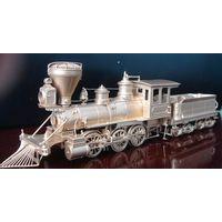 Antique model - HO scale brass train ( USA Mogul 2-6-0 ) thumbnail image