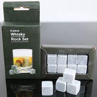 Natural Whiskey Ice Stone For Gift Wine Chiller Whiskey Stones Set