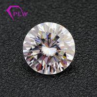 China Wuzhou always hot sale ten hearts & ten arrows loose synthetic gemstones moissanite