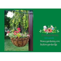 Classic And Traditional Hayrack Hanging Basket With Less Work