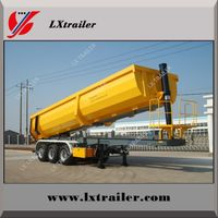 50 ton 3 axles end trailer dump / end tipping truck trailers thumbnail image
