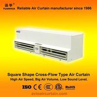 Square cross-flow type air curtain (air door) FM-1.5-09 plus