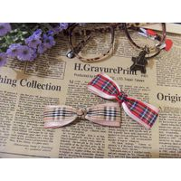 handmade scotish ribbon bows for girl hair decoration thumbnail image