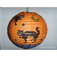 hanging paper lantern for Halloween party thumbnail image