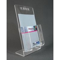 China Factory A4 Clear Acrylic Brochure Holder