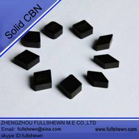 solid CBN inserts, solid CBN cutting tools for metalworking