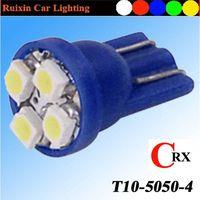 Top seller super brightness T10 wedge 4 auto bulb
