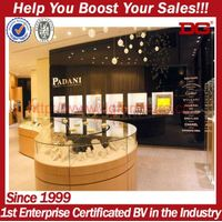 hot selling high-grade jewelry showroom furniture jewelry display showcase thumbnail image