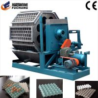 Pulp Molding Machine Processing Type and 1 Year Warranty Paper Pulp Egg Tray Moulding Machine