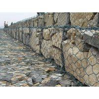 hot dipped galvanized stone cage/gabion box/rock filled gabion baskets(factory) thumbnail image