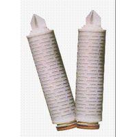 PTFE folded filter