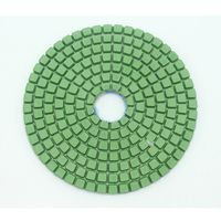 4inch thicken Resin Bonded Diamond Dry Polishing Pads Flexible Grinding Disc for Marble