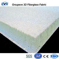 Two Deck Layers 3D Fiberglass Fabric Fibre Panel Sanwich