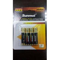 1.5v AAA AM4 LR03 ALKALINE BATTERY