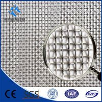 stainless steel plain and twill weave wire mesh